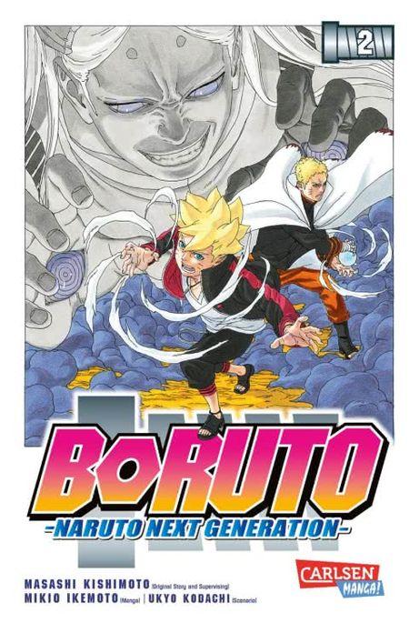 Boruto-Naruto Next Generation 2 - Das Cover