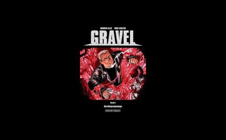 GRAVEL - Bd. 2 Die Körperplantage - Das Cover