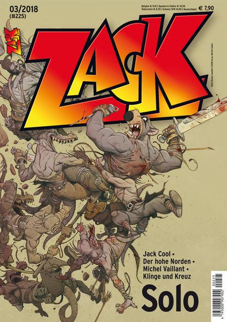 Zack 225 - Das Cover