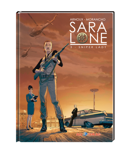 Sara Lone 3: Sniper Lady - Das Cover