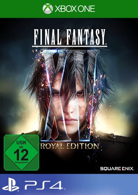 Final Fantasy XV: Royal Edition - Der Packshot