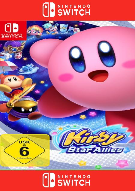 Kirby Star Allies - Der Packshot