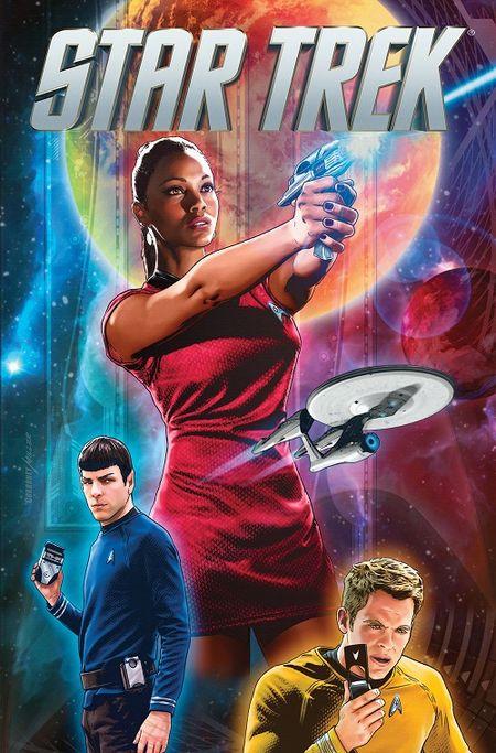 Star Trek Comicband 16: Die neue Zeit 10 - Das Cover