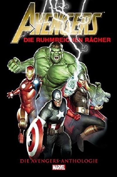 Avengers Anthologie: Die Ruhmreichen Rächer  - Das Cover