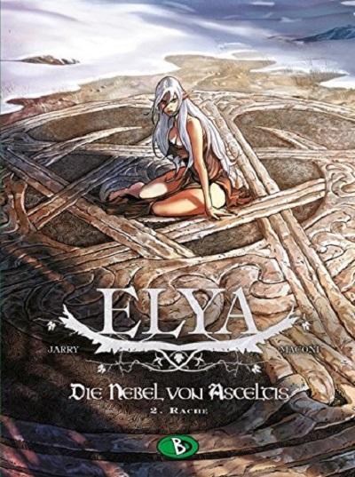 Elya – Die Nebel von Asceltis 2: Rache - Das Cover