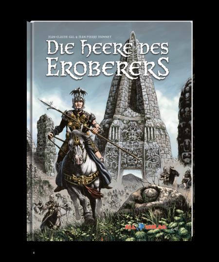 Die Heere des Eroberers - Das Cover