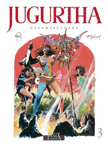 Jugurtha Gesamtausgabe 3 - Das Cover