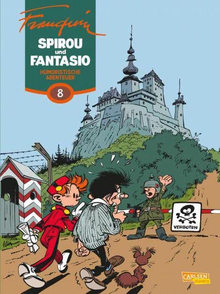 Spirou und Fantasio 8: Humoristische Abenteuer - Das Cover
