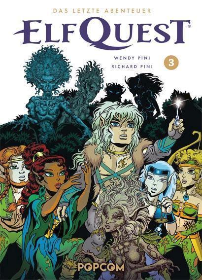 ElfQuest 3: Das letzte Abenteuer - Das Cover