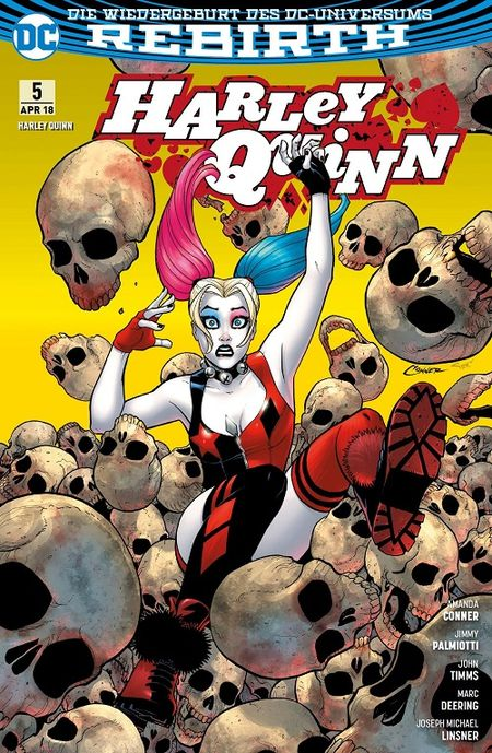 Harley Quinn (Rebirth) 5: Familienbande  - Das Cover