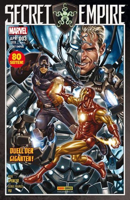 Secret Empire 3: Duell der Giganten  - Das Cover