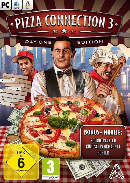 Pizza Connection 3 - Der Packshot