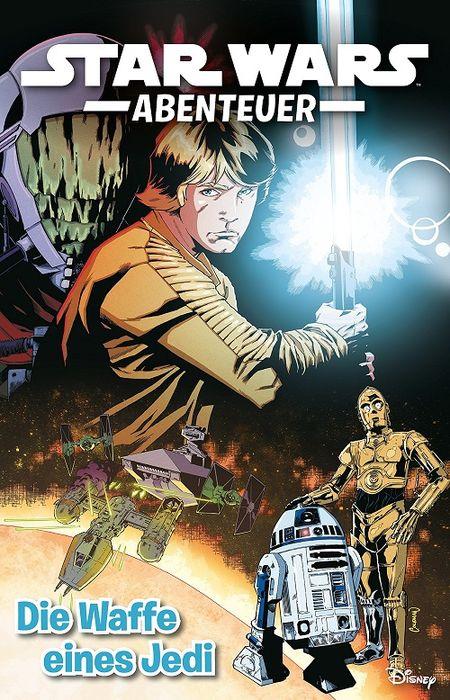 Star Wars Abenteuer 1: Die Waffe eines Jedi - Das Cover