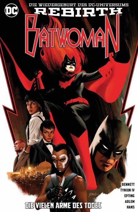 Batwoman (Rebirth) 1: Die vielen Arme des Todes - Das Cover