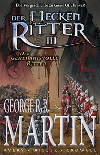 Der Heckenritter 3: Der geheimnisvolle Ritter - Das Cover