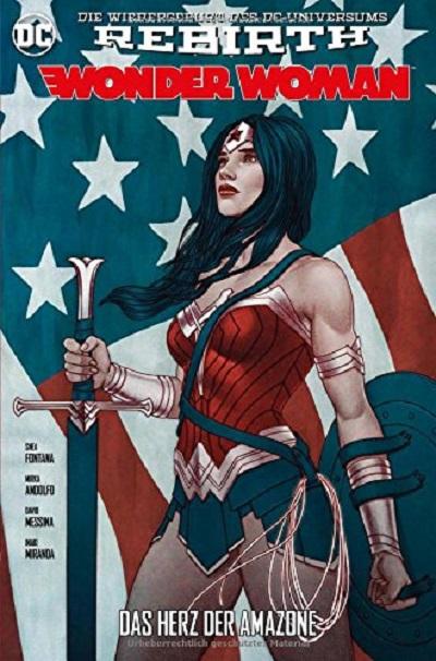 Wonder Woman (Rebirth) 4: Das Herz der Amazone - Das Cover