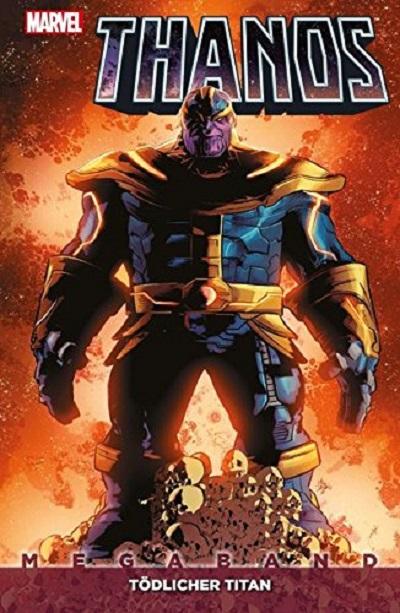 Thanos Megaband1: Tödlicher Titan  - Das Cover