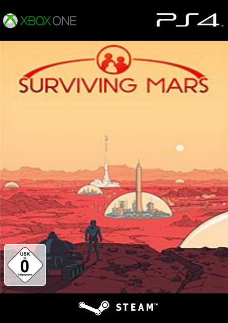 Surviving Mars - Der Packshot