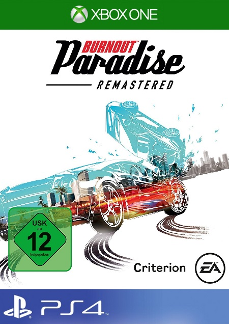 Burnout Paradise Remastered - Der Packshot