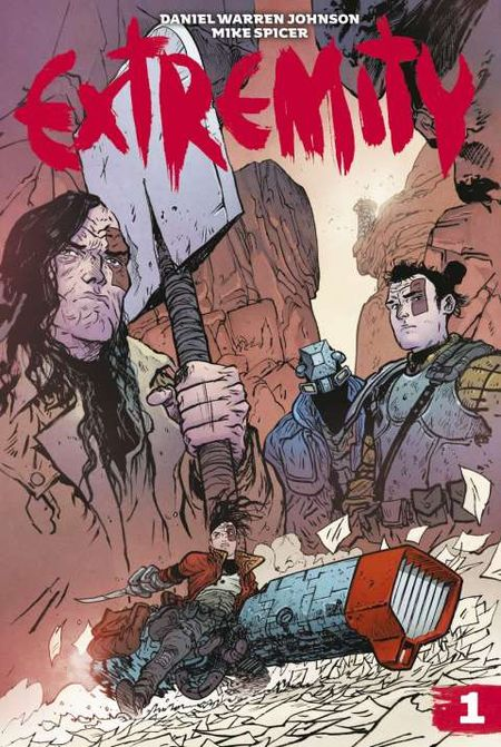 Extremity 1 - Das Cover