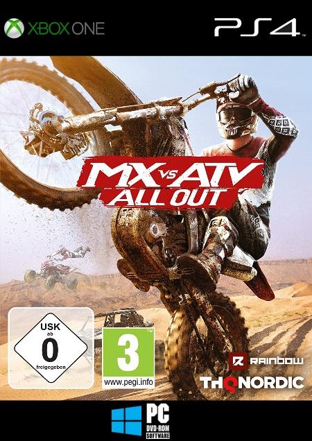 MX vs. ATV All Out - Der Packshot