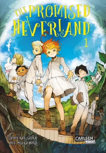 The Promised Neverland 1 - Das Cover