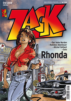 Zack 226 - Das Cover