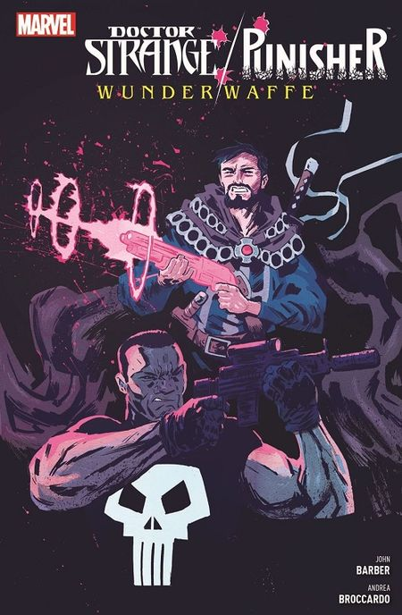 Doctor Strange/Punisher: Wunderwaffe  - Das Cover