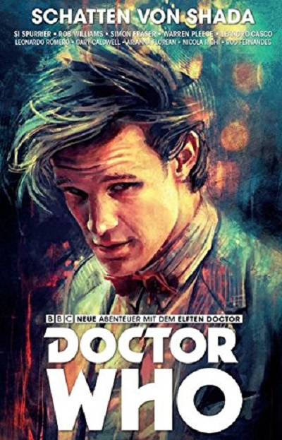 Doctor Who - Der Elfte Doktor: Schatten von Shada  - Das Cover
