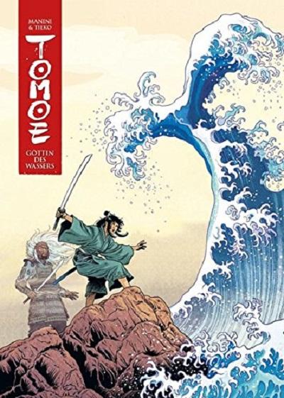 Tomoe 1: Göttin des Wassers - Das Cover