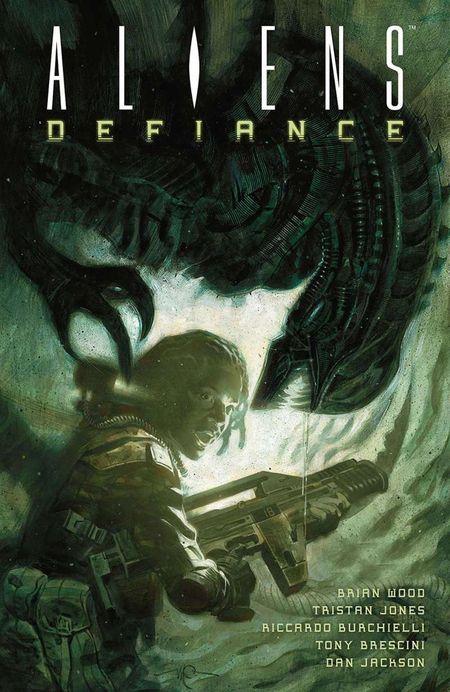 Aliens: Defiance 1 - Das Cover