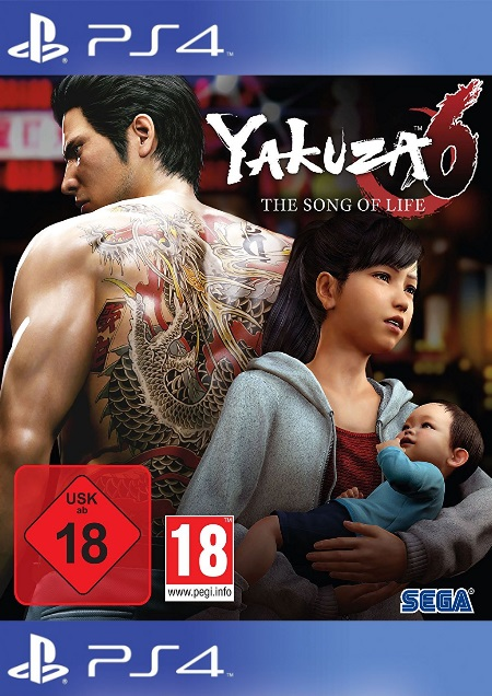 Yakuza 6: The Song of Life - Der Packshot