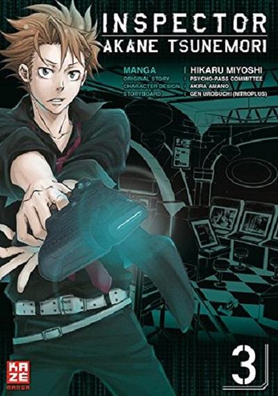 Inspector Akane Tsunemori 3 - Das Cover