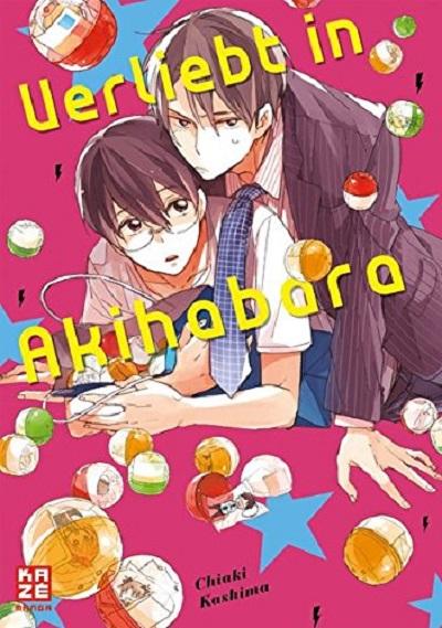 Verliebt in Akihabara - Das Cover
