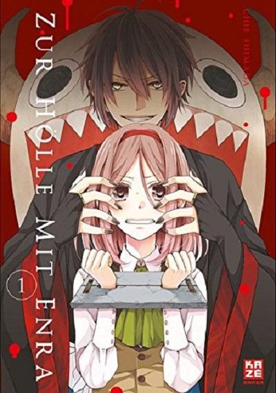 Zur Hölle mit Enra 1 - Das Cover