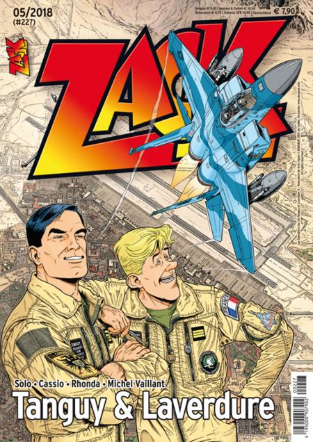 Zack 227 - Das Cover