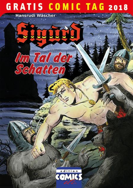 Sigurd: Im Tal der Schatten – Gratis Comic Tag 2018 - Das Cover