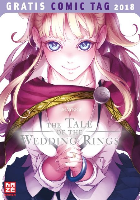 The Tale of the Wedding Rings – Gratis Comic Tag 2018 - Das Cover