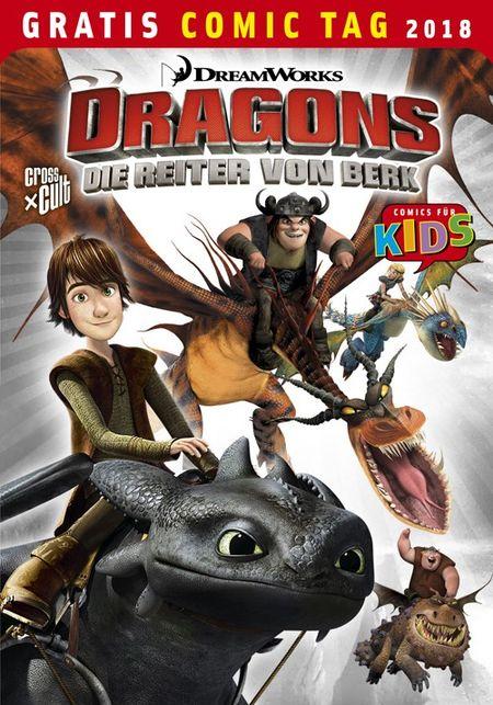 Dragons: Die Reiter von Berk – Gratis Comic Tag 2018 - Das Cover