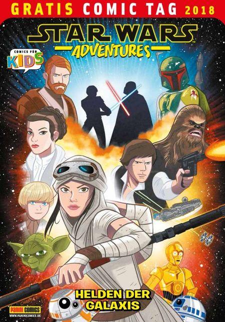 Star Wars Abenteuer: Helden der Galaxis – Gratis Comic Tag 2018  - Das Cover