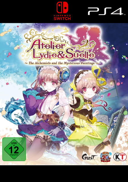 Atelier Lydie & Suelle: The Alchemists and the Mysterious Paintings - Der Packshot