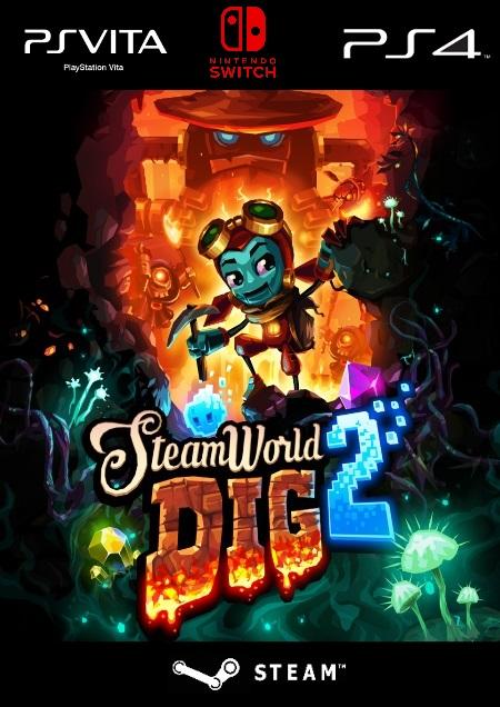 Steamworld Dig 2 - Der Packshot