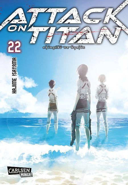 Attack on Titan 22 - Das Cover