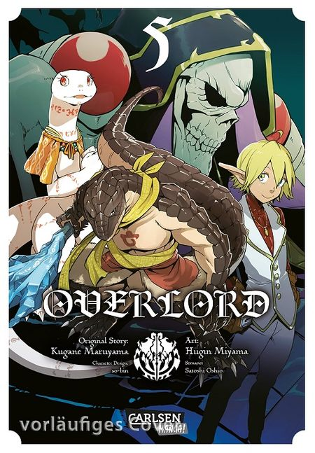 Overlord 5 - Das Cover