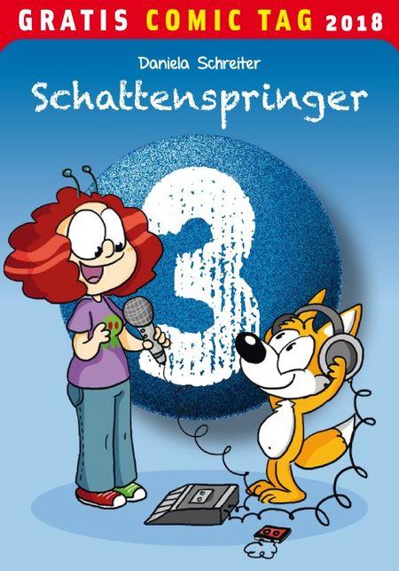 Schattenspringer 3 - Gratis Comic Tag 2018 - Das Cover