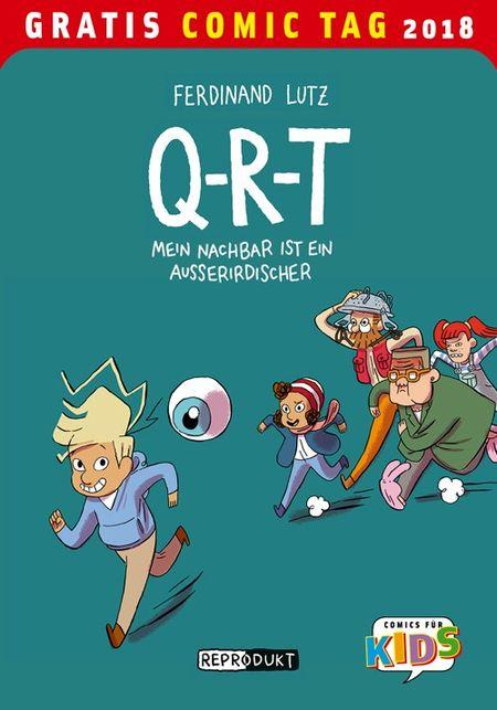 Q-R-T - Gratis Comic Tag 2018 - Das Cover