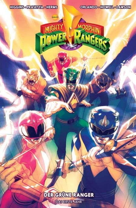 Mighty Morphin Power Rangers Band 1 - Das Cover