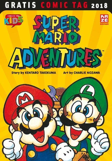 Super Mario Adventures - Gratis Comic Tag 2018 - Das Cover