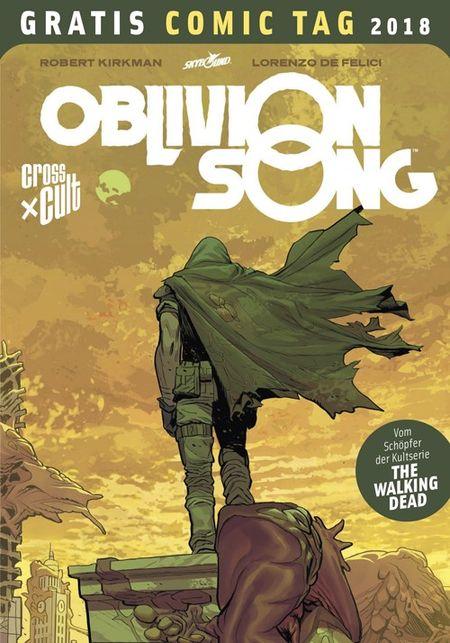 Oblivion Song - Gratis Comic Tag 2018 - Das Cover