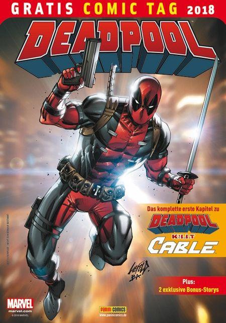 Deadpool – Gratis Comic Tag 2018 - Das Cover